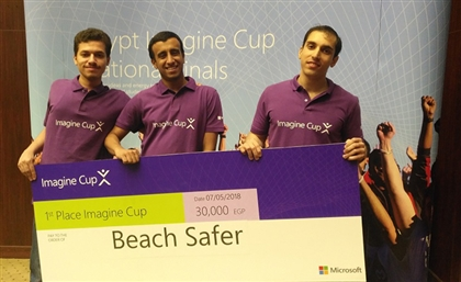 Egyptian Startup Beach Safer Competes Globally At Imagine Cup 2018