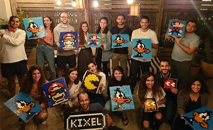 Meet Kixel: The Egyptian Startup Using 8-Bit Nostalgia for Team-Bonding, Art Workshops and More