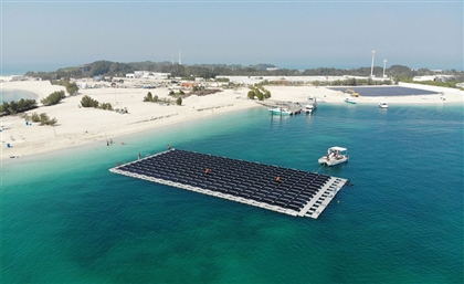 The UAE Gets Its First Floating Solar Power Plant