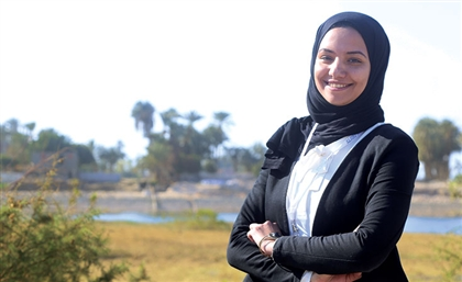 This Egyptian Female Engineer Teamed Up with Local Farmers to Create Energy Out of Garbage