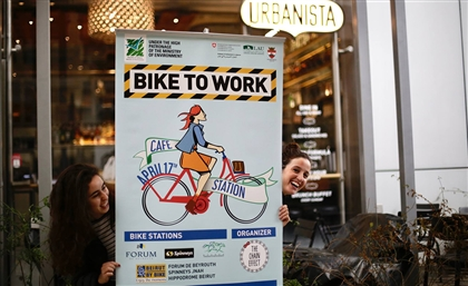 The Lebanese Are Biking To Work On April 17th