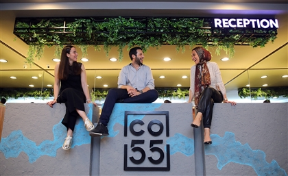 CO-55, An Egyptian Co-Working Space That Shrinks And Expands With Startups