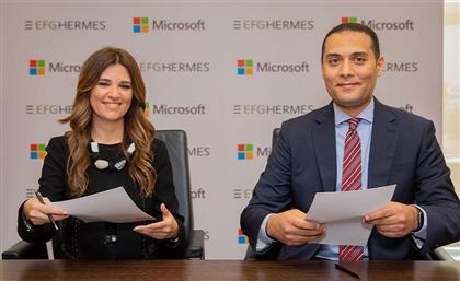 Egypt's EFG Hermes & Microsoft Sign Digital Transformation Partnership